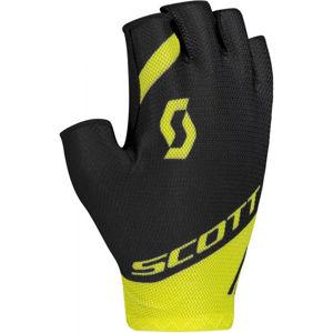 Scott RC TEAM SF žlutá S - Cyklistické rukavice