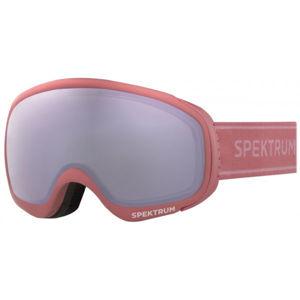 Spektrum MESA JR růžová NS - Dětské lyžařské brýle
