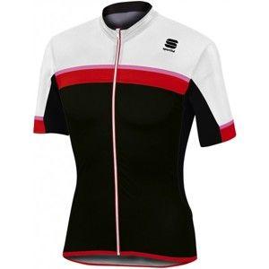 Sportful PISTA JERSEY červená XL - Cyklistický dres