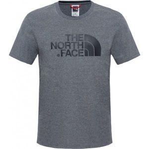 The North Face S/S EASY TEE šedá XXL - Pánské tričko