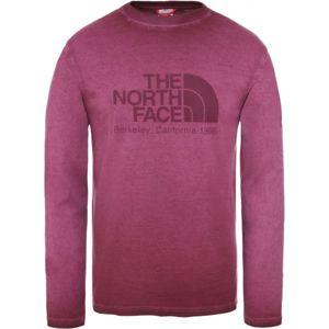 The North Face L/S WASHED BT M - Pánské tričko s dlouhým rukávem