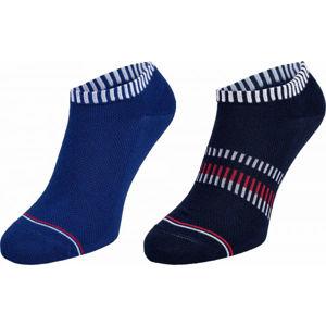 Tommy Hilfiger MEN SNEAKER 2P NEW PETE černá 43-46 - Pánské ponožky
