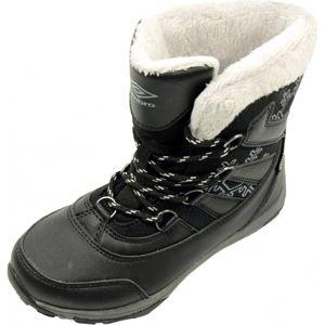 Umbro ALIISA černá 30 - Dětská zimní obuv