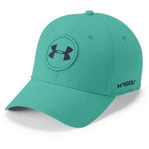Under Armour JS TOUR CAP zelená M/L - Pánská čepice s kšiltem
