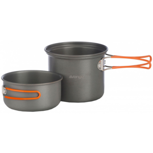 Vango HARD ANODISED 2 PERSON COOK KIT - Eloxovaná sada na vaření
